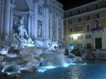 非常漂亮的罗马许愿池单反照片